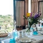 Le Vie di Feronia - Bed and Breakfasts a Terracina - Sala principale e paesaggio
